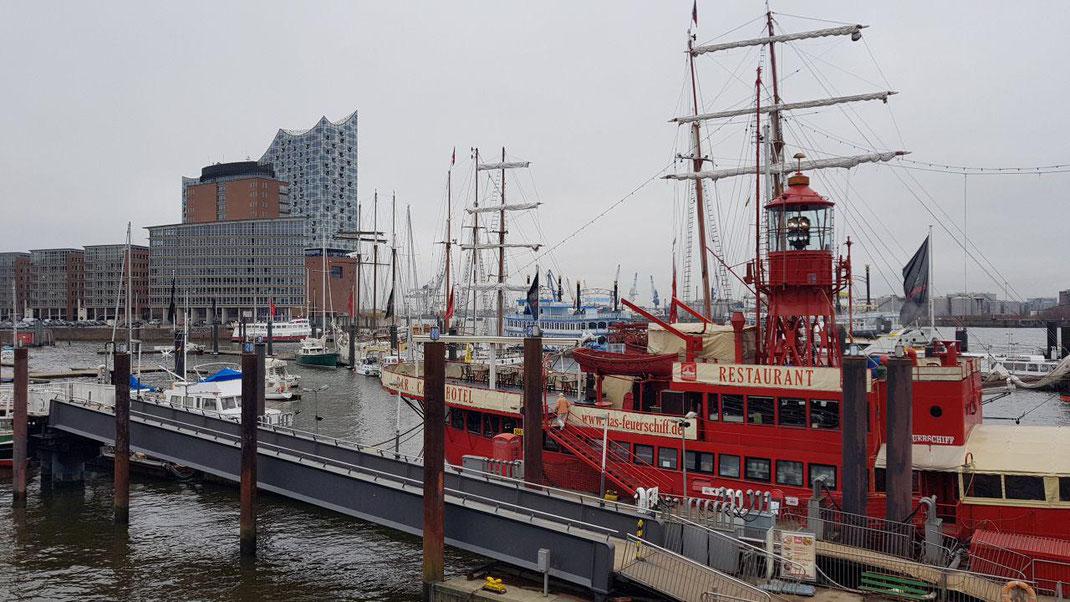 Abschlussfahrt der Klasse 10a nach Hamburg vom 9. bis 13. April 2018